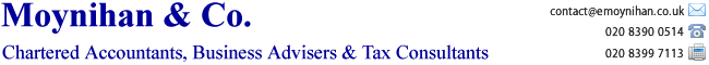 Moynihan &amp; Co | Chartered Accountants | Tax Advisers | Surbiton | Surrey